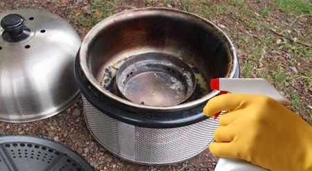Líquido limpiador Cobb para barbacoas de acero inoxidable