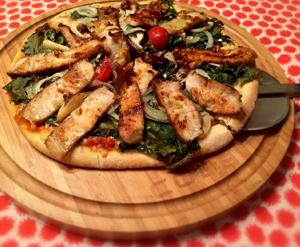 Tabla de cortar para barbacoa Cobb Premier con pizza
