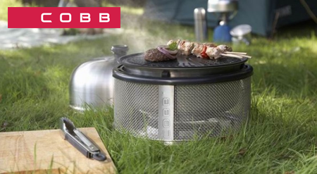 Barbacoa Cobb Premier camping
