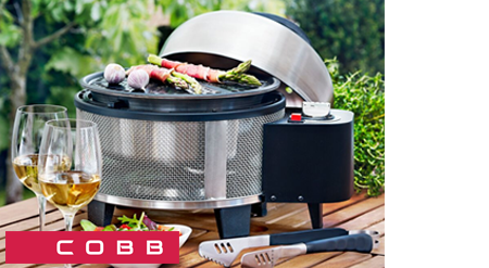 Barbacoa Cobb Premier Gas lateral